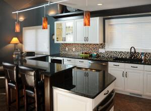 Home remodel interior kitchen after