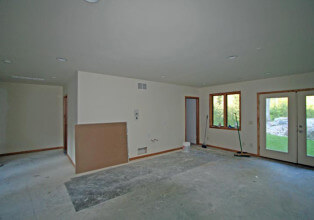 Basement interior remodel before
