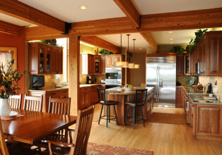 Kitchen design after remodel