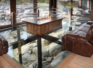 House additions Wisconsin glass floor