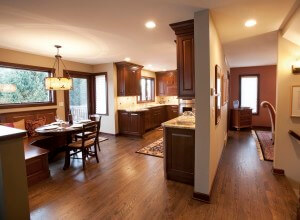 Modern kitchen design urban Wisconsin