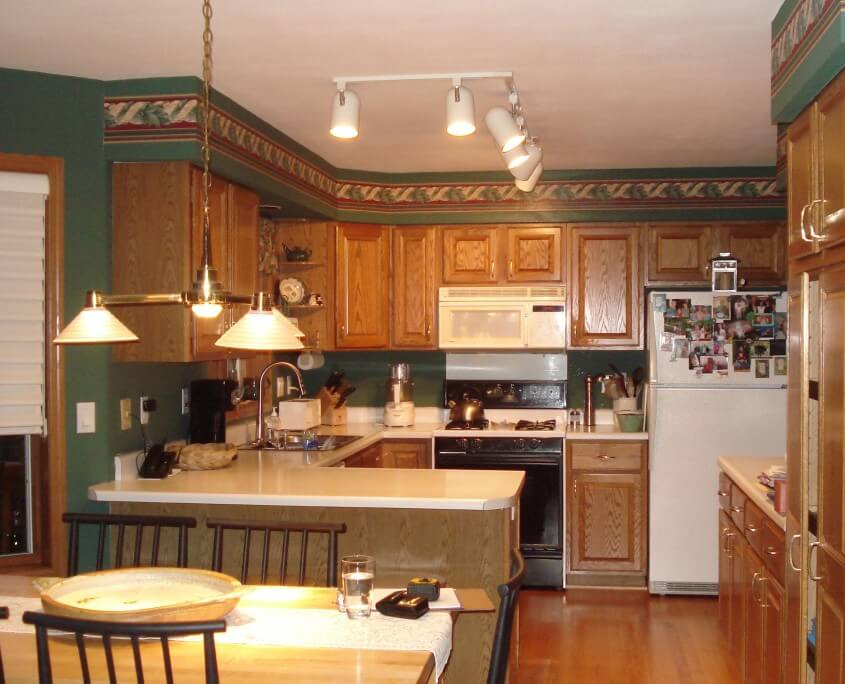 Kitchen remodel before in WI