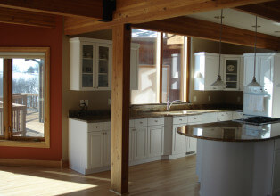 Kitchen remodel before in Wisconsin