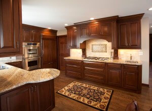 Kitchen Remodel Cabinets After in WI