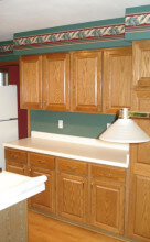 Kitchen remodel cabinets before in Wisconsin