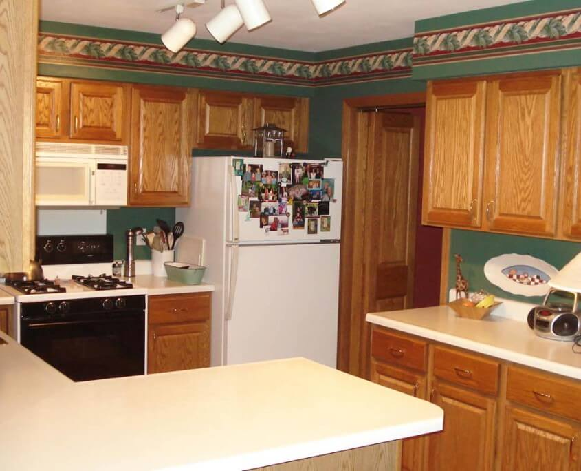 Kitchen Remodel Counter Tops Before in WI