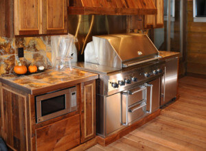 Kitchen remodel wooden cabinets in WI