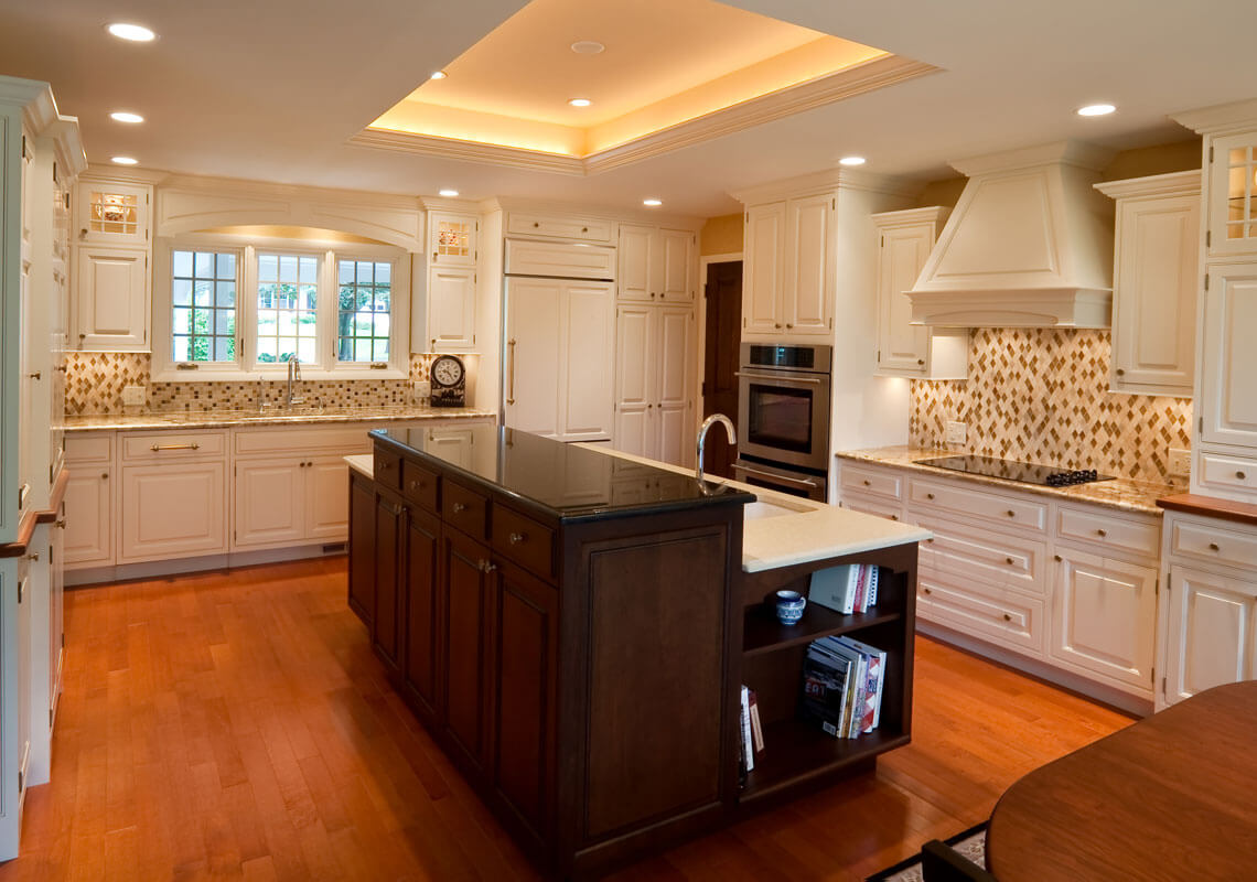 Beautiful Kitchen Remodel Madison Wi #2: Elegant Kitchen Transformation.