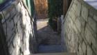 stone exterior steps