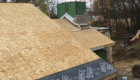 sheathing of the roof