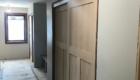 hallway closet door install